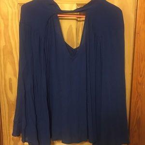 Flowy dress shirt
